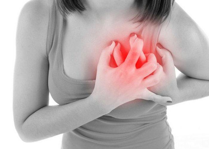 Triệu chứng đau tức ngực rất nguy hiểm đối với bệnh nhân rối loạn mỡ máu